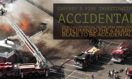 4 Alarm Blaze: Accidental (CAFFERY'S FIRE)