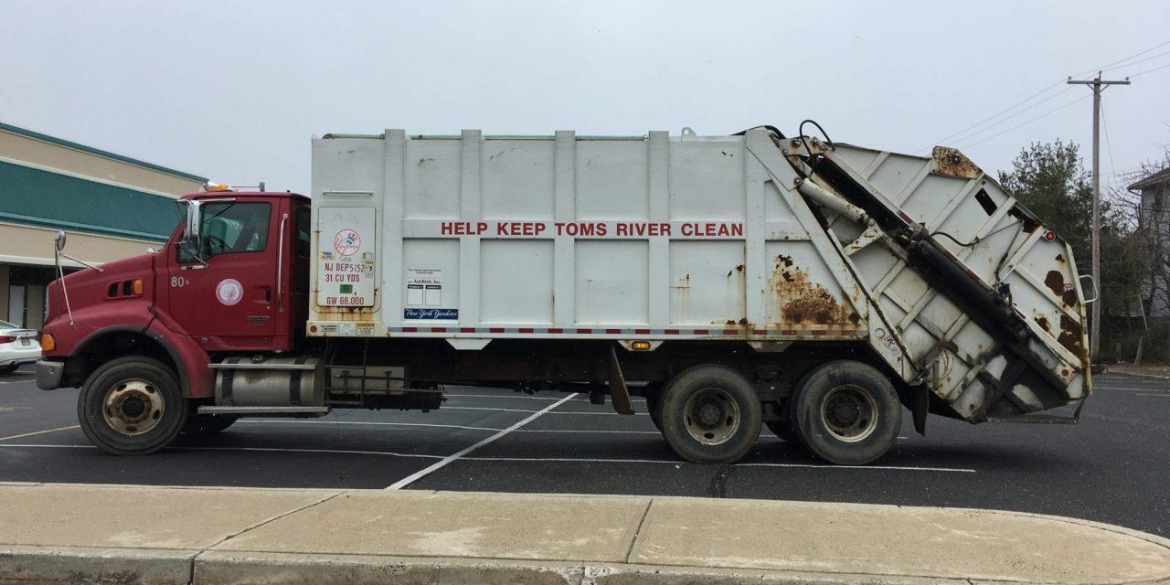 Lacey: Beach @ Chesapeake- Garbage Man Struck.