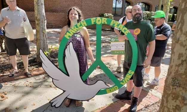 Ocean County Residents Rally For Peace