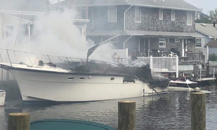 Bayville: Boat Fire