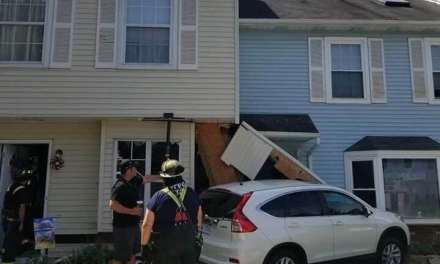 Jackson: Joan Court- Vehicle Plows into Townhomes.
