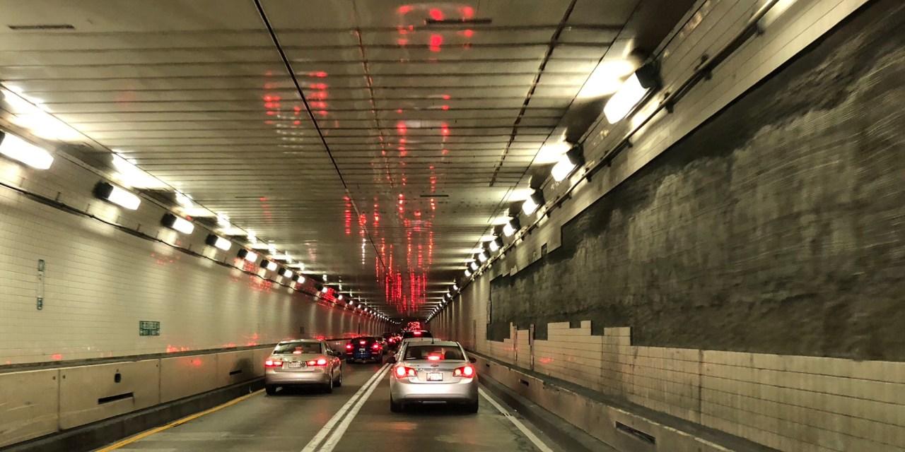 Baltimore: I-895 Harbor Tunnel- Drive Through Dashcam Footage