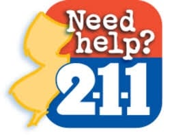 Need Help? Dial 2-1-1 in N.J. 24/7 for non/police matters.