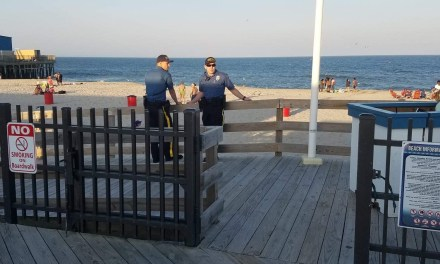 Seaside Heights: Subjects in the water