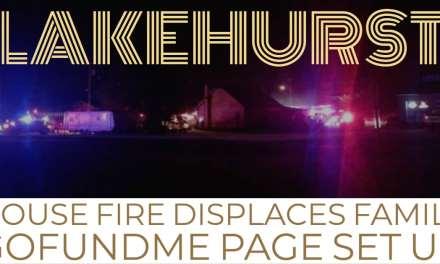 LAKEHURST: House Fire Displaces Lakehurst Family — GoFundMe Page Set Up