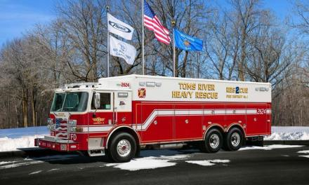 Toms River: Structure Fire
