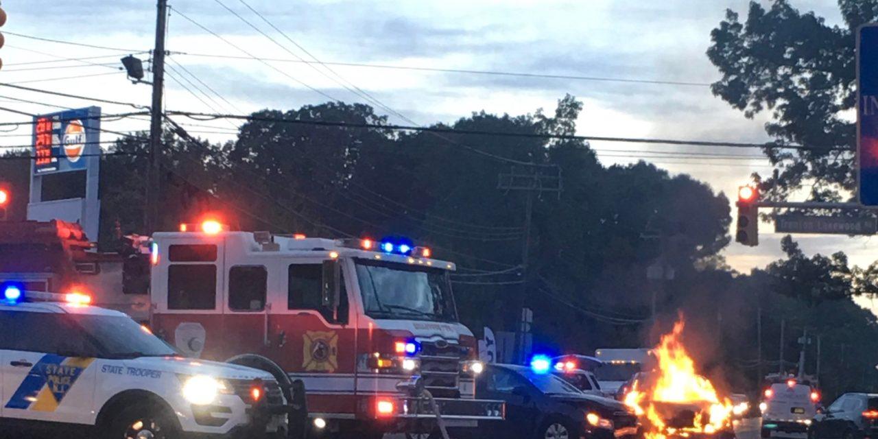 JACKSON: CR571 @ CR537- Vehicle Fire