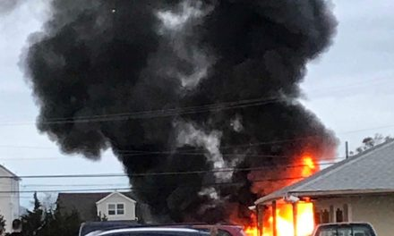 Toms River: Boat Fire