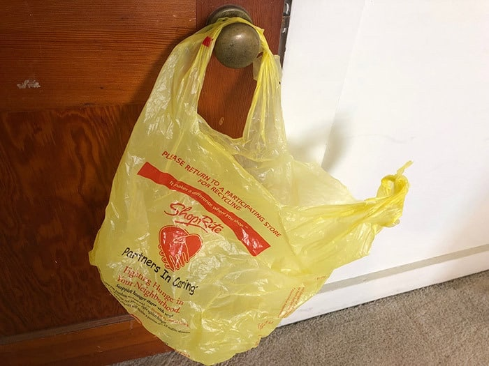 STAFFORD: Plastic Bags Disappear!