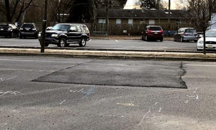 "BRICK: Newly Repaved Road Patched, Causing ""Speed Bump"""