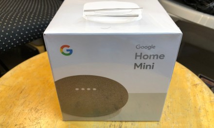 Google Home Mini Winner!