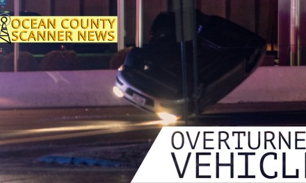 Stafford: Overturned Vehicle