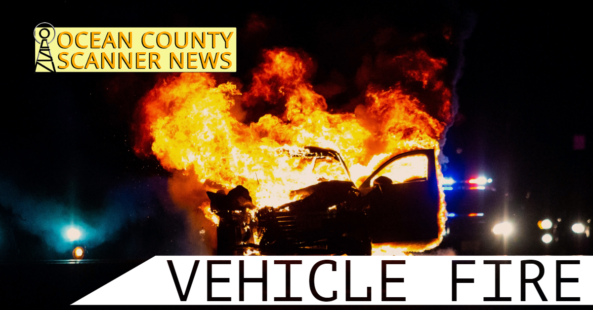 GSP: Possible Vehicle Fire