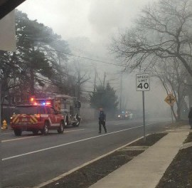 Brick Township: Working Structure Fire