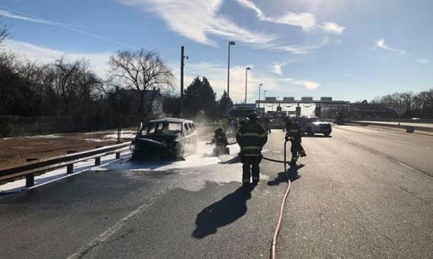 TR: Parkway Car Fire Under Investigation