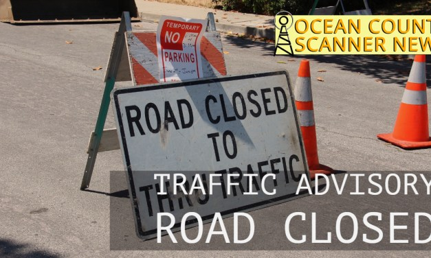 BEACHWOOD: One Lane Closed Near Beachwood Elementary (NJNG Gas Leak Repair)