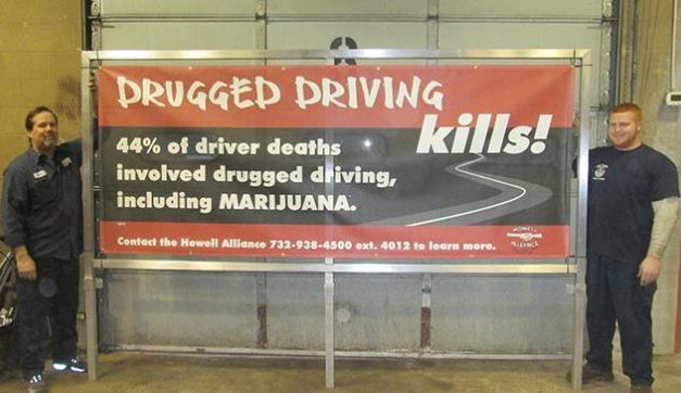 HOWELL: Anti-Drug Messages To Be Displayed Around Town