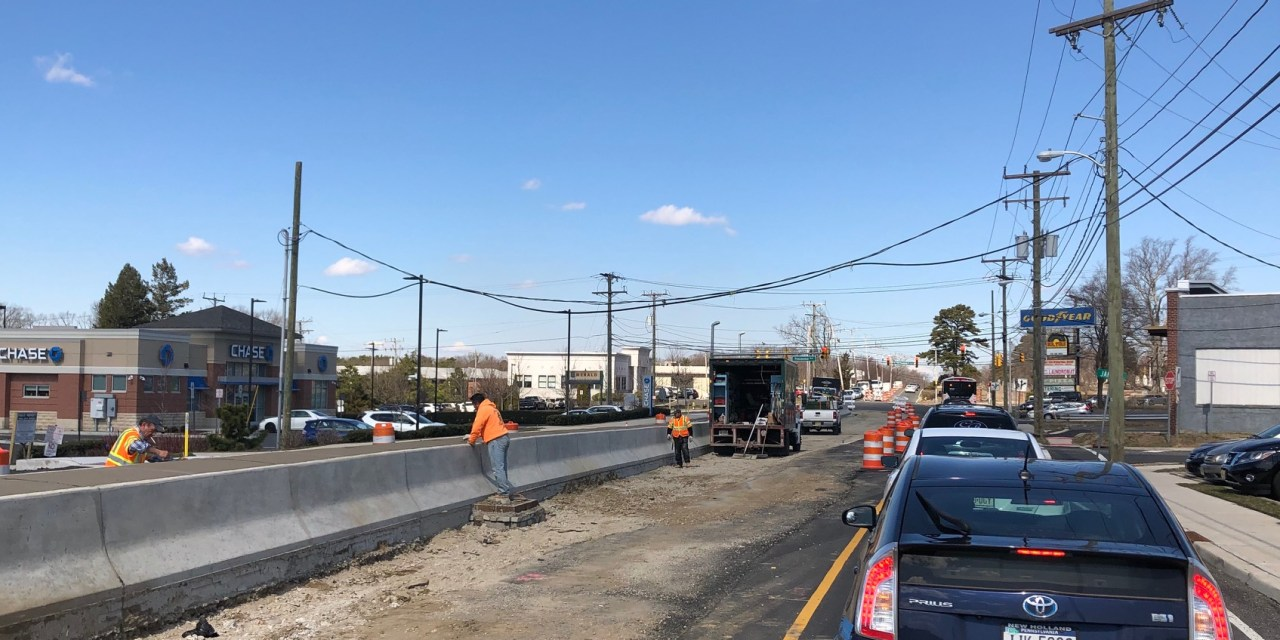 TR: NJ 166 Construction Workers Spotted Working!