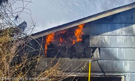 LEH: Garage Fire Takes Home With It