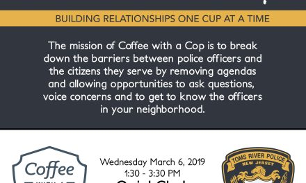 TRPD: Coffee with a Cop Wednesday