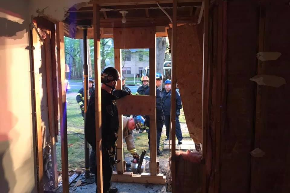 JACKSON: Influenced Driver Smashes Into Residence Earlier Today