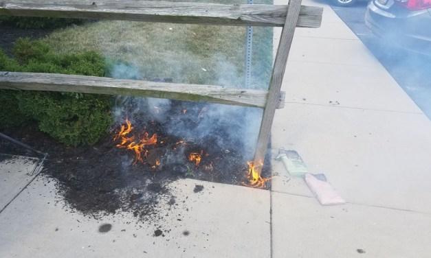 JACKSON: Mulch Fire