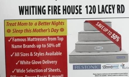 Buy a New Mattress: Support Whiting Fire Company!