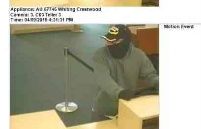 MANCHESTER: Police Continue To Search For Bank Robbery Suspect