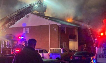 TR: Jamestowne Village- Working Structure Fire