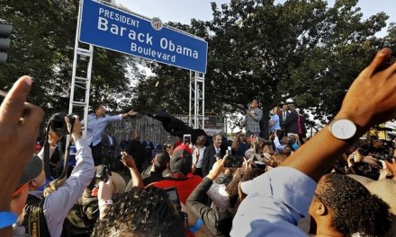 LOS ANGELES: Street officially renamed Obama Boulevard
