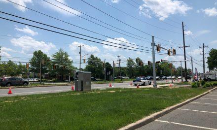 TR: Shopping Center Roadway Construction Underway