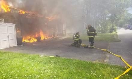 BEACHWOOD: Earlier Structure Fire