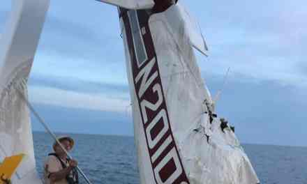 CAPE MAY: Pilot found still strapped in the seat at the controls of crashed plane.
