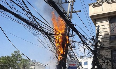 Toms River: Pole Fire