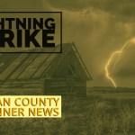 Barnegat: Structure Fire From Lightning Strike