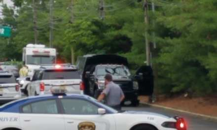 Toms River: Standoff with possible weapon and explosive