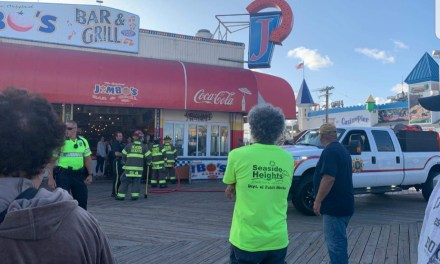 Seaside Heights: Fire being reported at Jimbo's Bar and Grill
