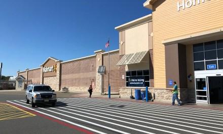 LACEY: Walmart Parking Drama