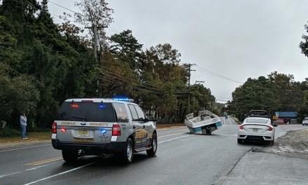 BERKELEY: Boat in the Road