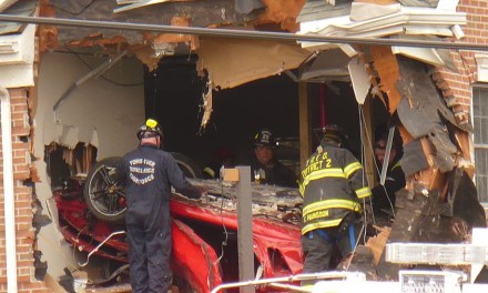TR: Fatal Vehicle Into Second Story- Additional Footage of Removal