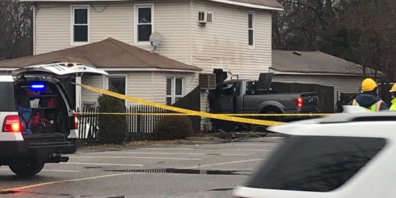 BRICK: Truck into House- Updated with Pictures