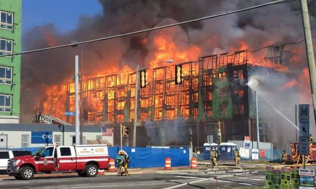 OUT OF AREA: Massive Building Fire