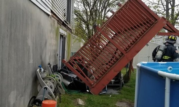 BEACHWOOD: Deck Collapse Pictures