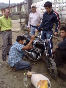 moto 4 T demo uso bioetanol