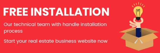 real estate custom script free installation