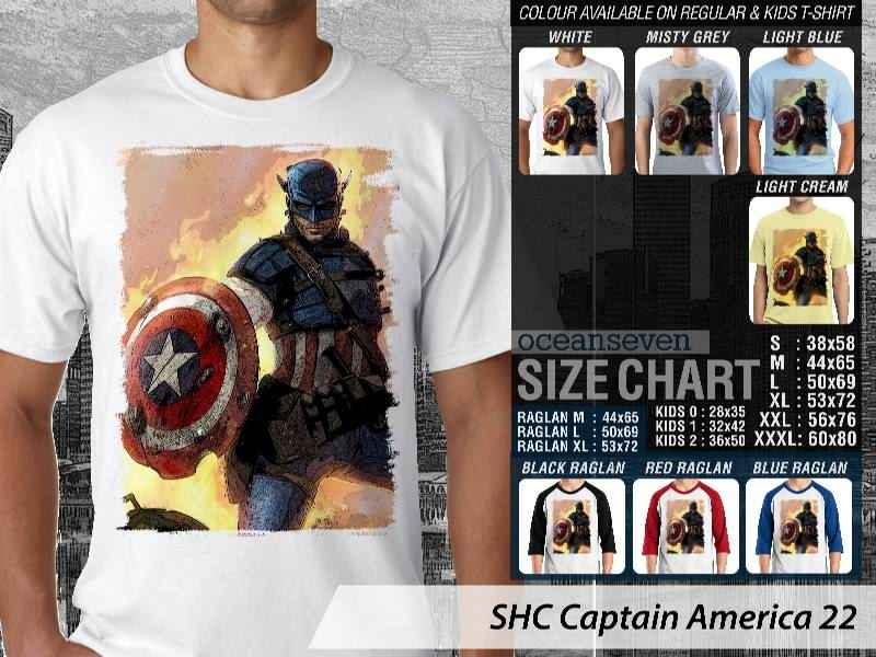 Kaos Film Marvel Captain America Avengers Kaos Film