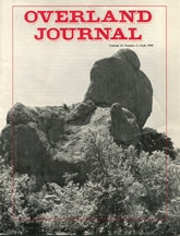 Overland Journal Volume 13 Number 3 Fall 1995