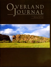 Overland Journal Volume 23 Number 4 Winter 2005
