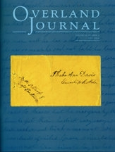 Overland Journal Volume 27 Number 3 Fall 2009
