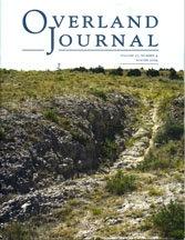 Overland Journal Volume 27 Number 4 Winter 2009